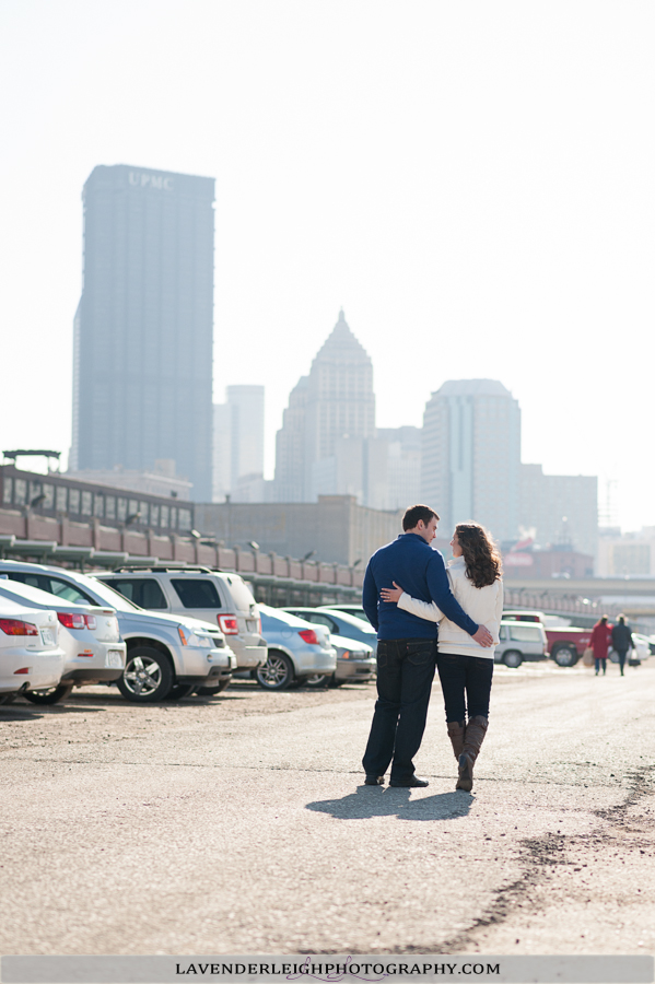 Strip District Engagement | Point State Park Engagement| Wedding Photographer | Pittsburgh Wedding Photographers | Lavender Leigh Photography | Blog