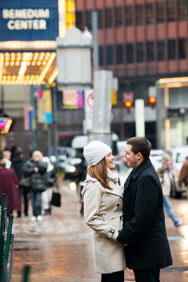Downtown Pittsburgh Engagement Photographer | 7th Street Grille | Pittsburgh Wedding Photographers | Lavender Leigh Photography | Blog