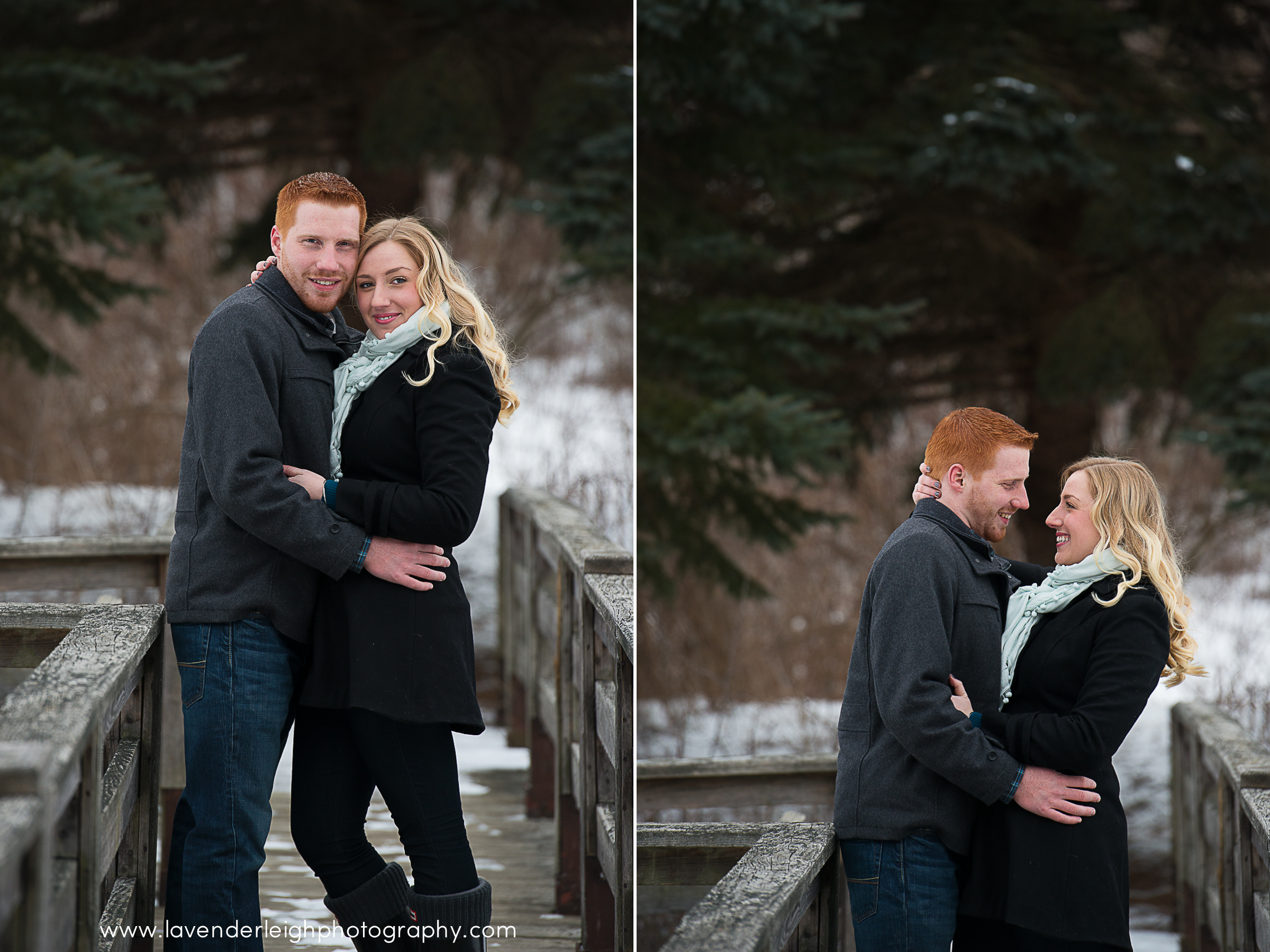 North Park Winter Engagement Session| Pittsburgh Wedding Photographer | Pittsburgh Wedding Photographers | Lavender Leigh Photography | Blog