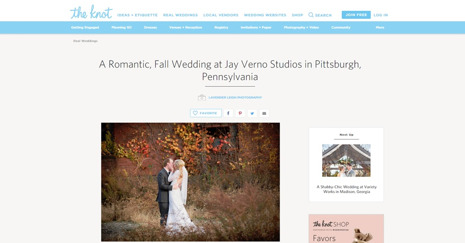 J. Verno Studios Wedding| Pittsburgh Wedding Photographer | Pittsburgh Wedding Photographers | Lavender Leigh Photography | Blog