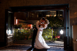 Bride and Groom, End of Night Shot