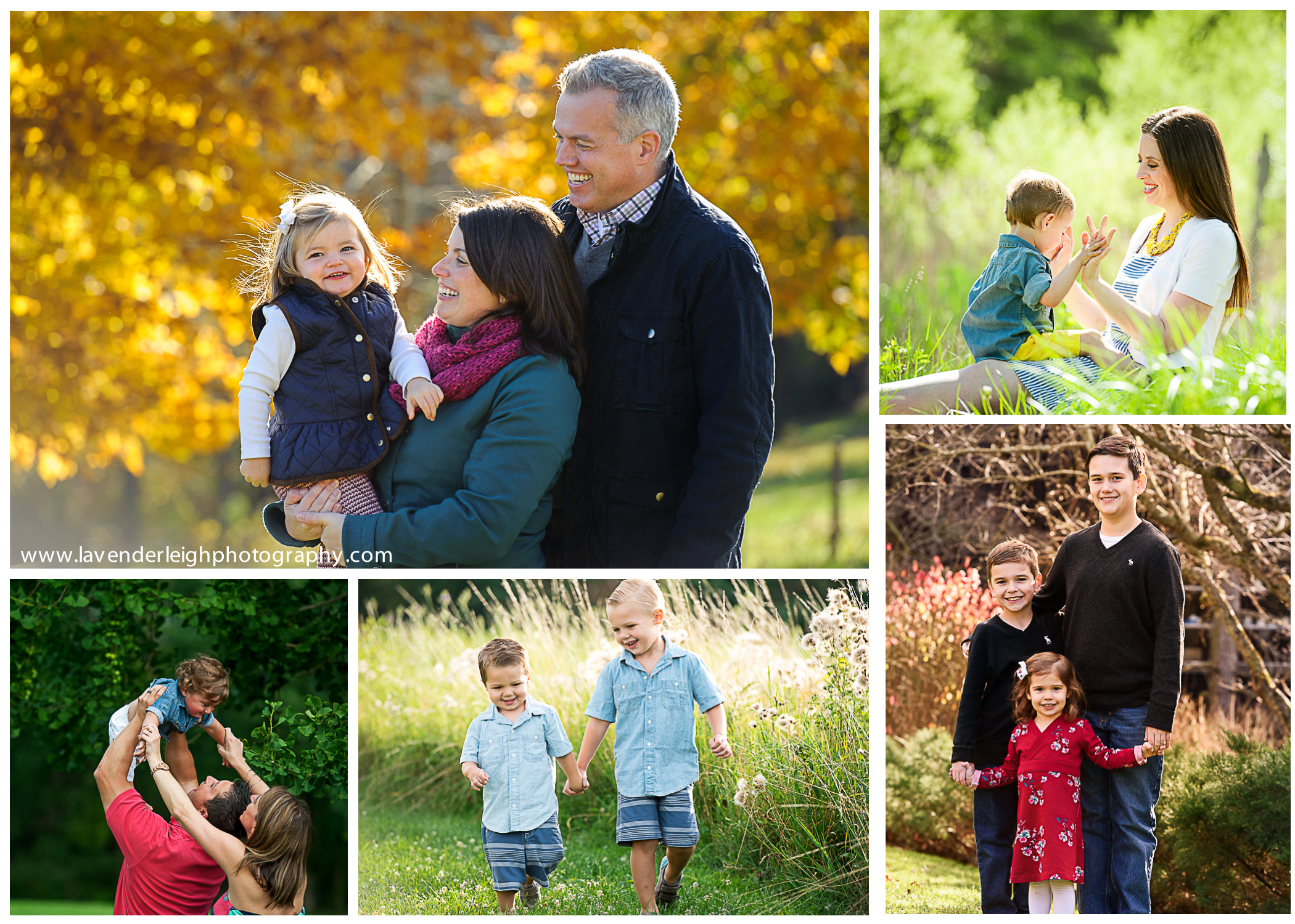 Family Portrait Sessions- Lavender Leigh Photography