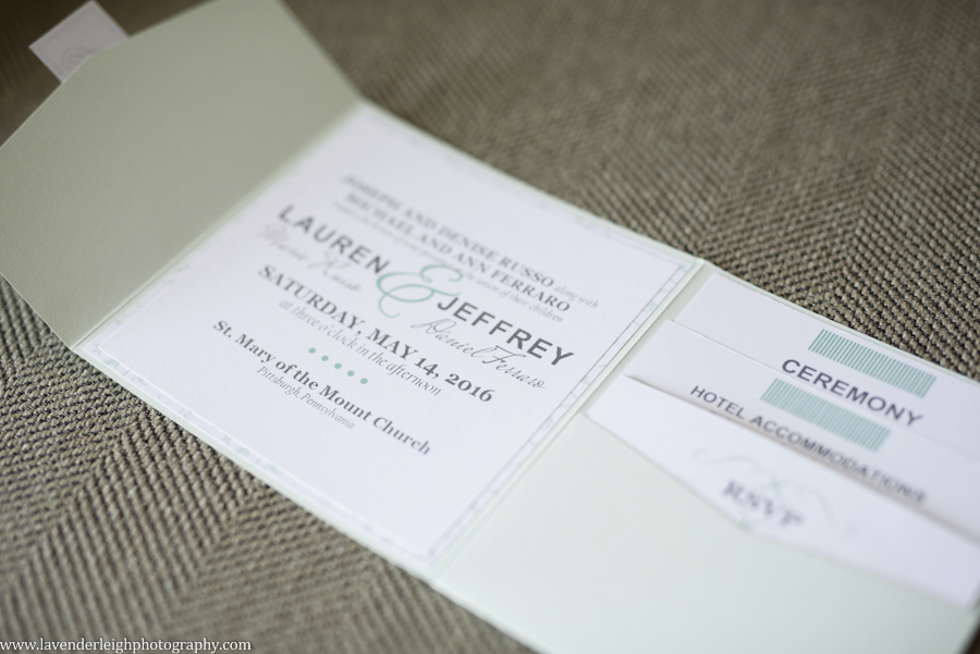 wedding invitation, green, sage, lavender leigh photography, wedding
