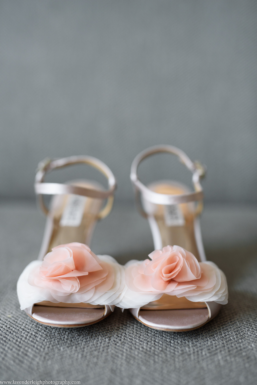 I just about died over these gorgeous Badgley Mischka wedding shoes!
