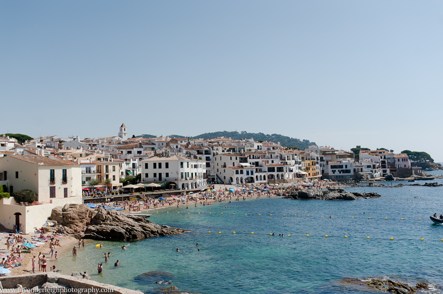 The town where we stayed the first few nights- Calella de Palafrugell