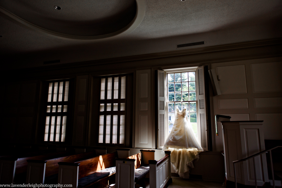 Dress in Window, The Club at Nevillewood Wedding, Lavender Leigh Photography