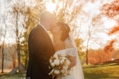 Bride and Groom in Autumn, lavender leigh photography, pittsburgh photographer, pennsylvania