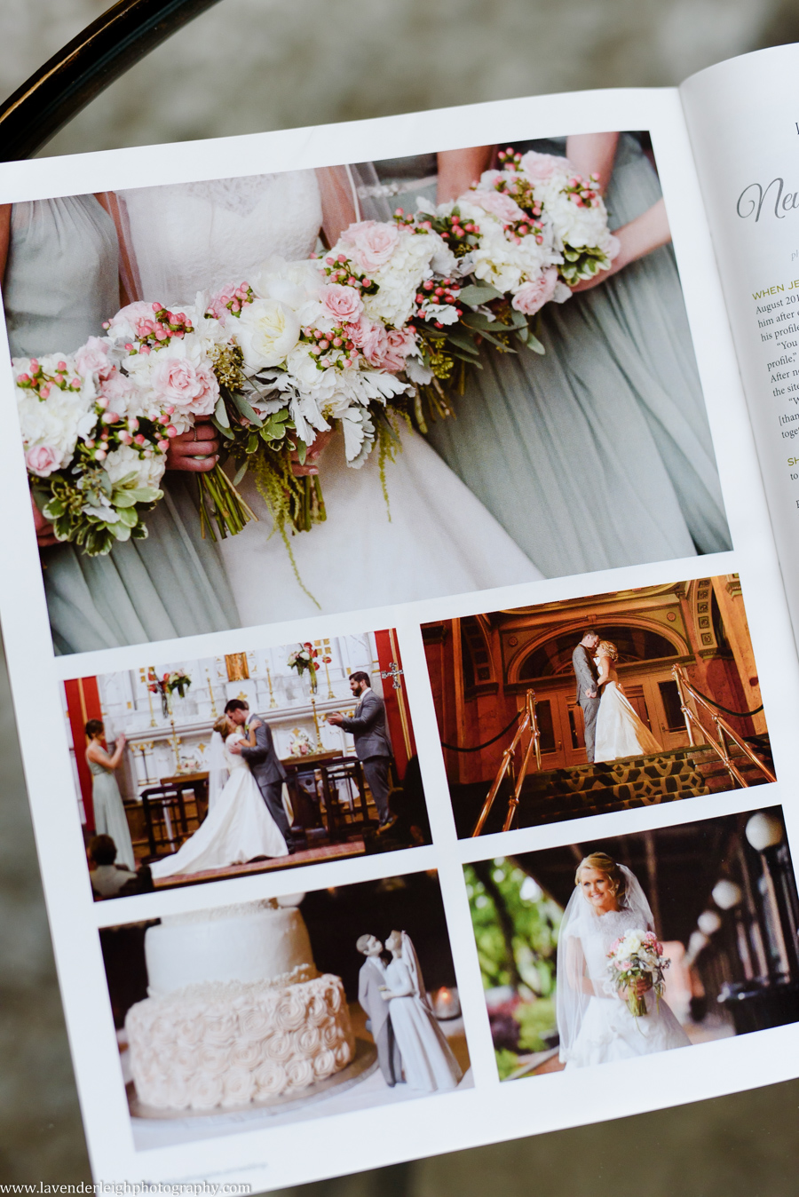 Pittsburgh Wedding Magazine, Lavender Leigh Photography, spring 2017 issue, pennsylvania